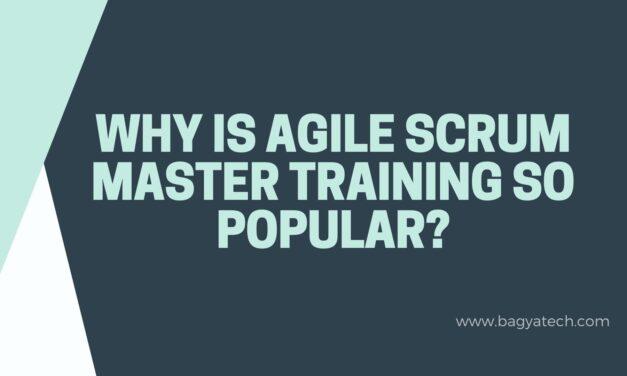 Why is Agile Scrum Master training so popular?
