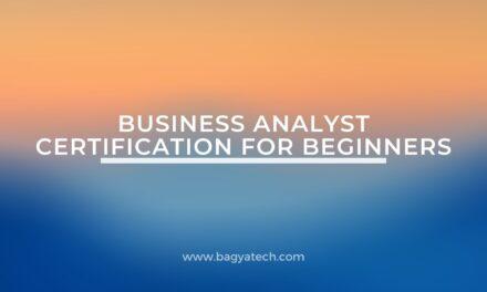 Business analyst certification for beginners- IIBA certifications